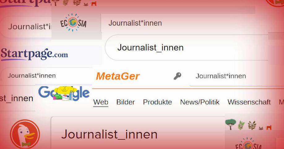 Meinten Sie Journalistinnen?