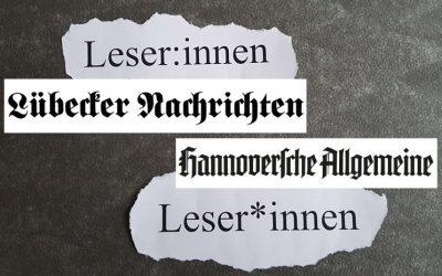 Der Lübecker Doppelpunkt und die lokale Presse